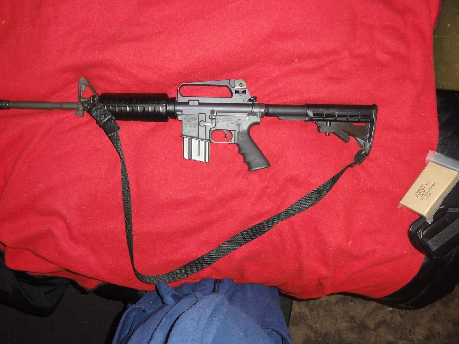 Can someone help me identify this Colt upper? A2, 16