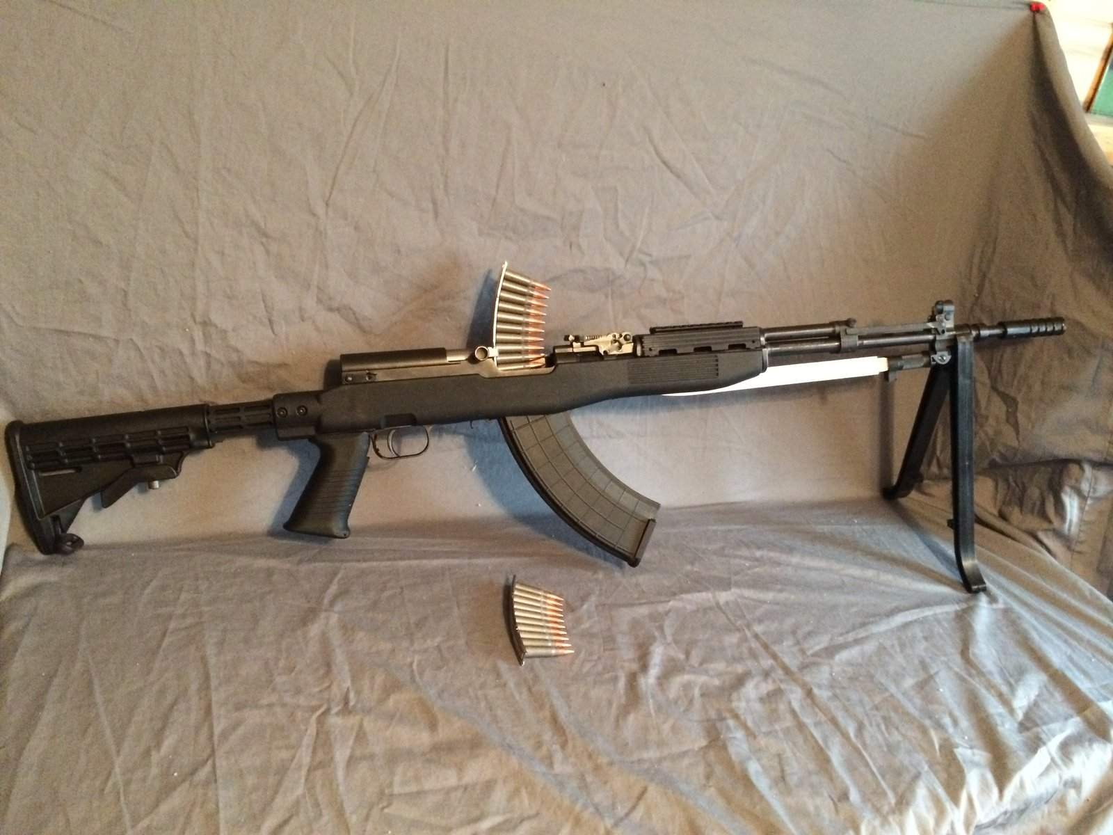 WTS OR - SKS- Yugo-tapco stock-30 rd mag-ammo-