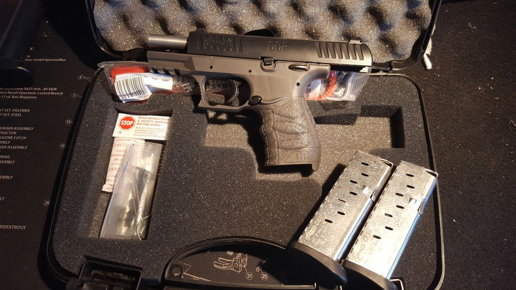 WTS/WTT WA - OR Too, Walther CCP 9mm Tungsten Grey Talo
