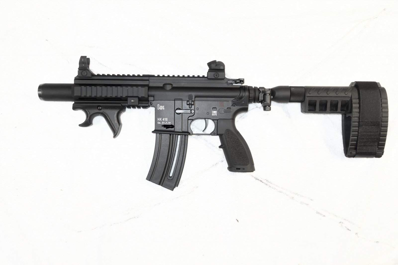 HK416 Pistol in 22LR Questions | Northwest Firearms - Oregon