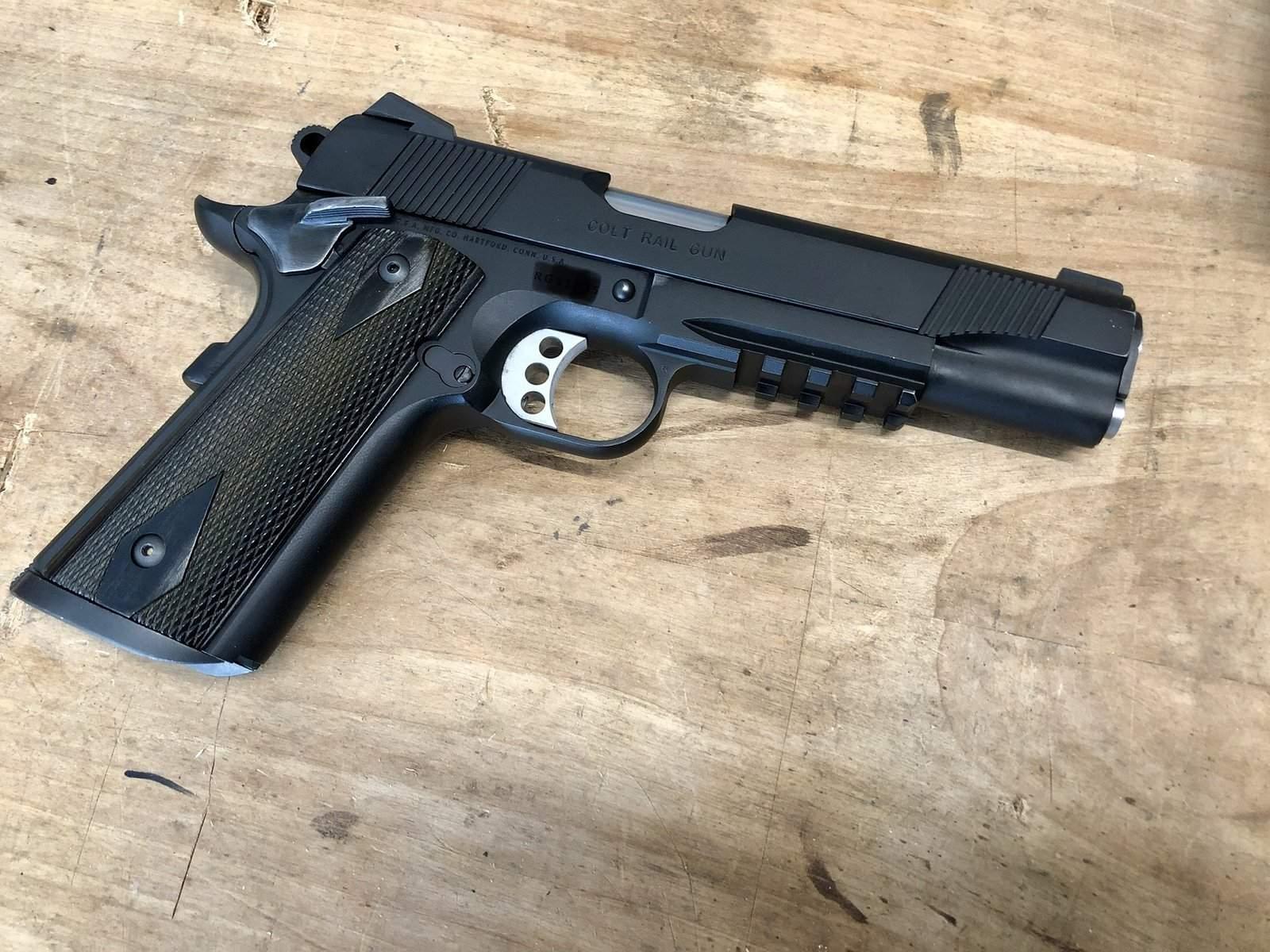 Colt 1911 Rail Gun | Northwest Firearms - Oregon, Washington