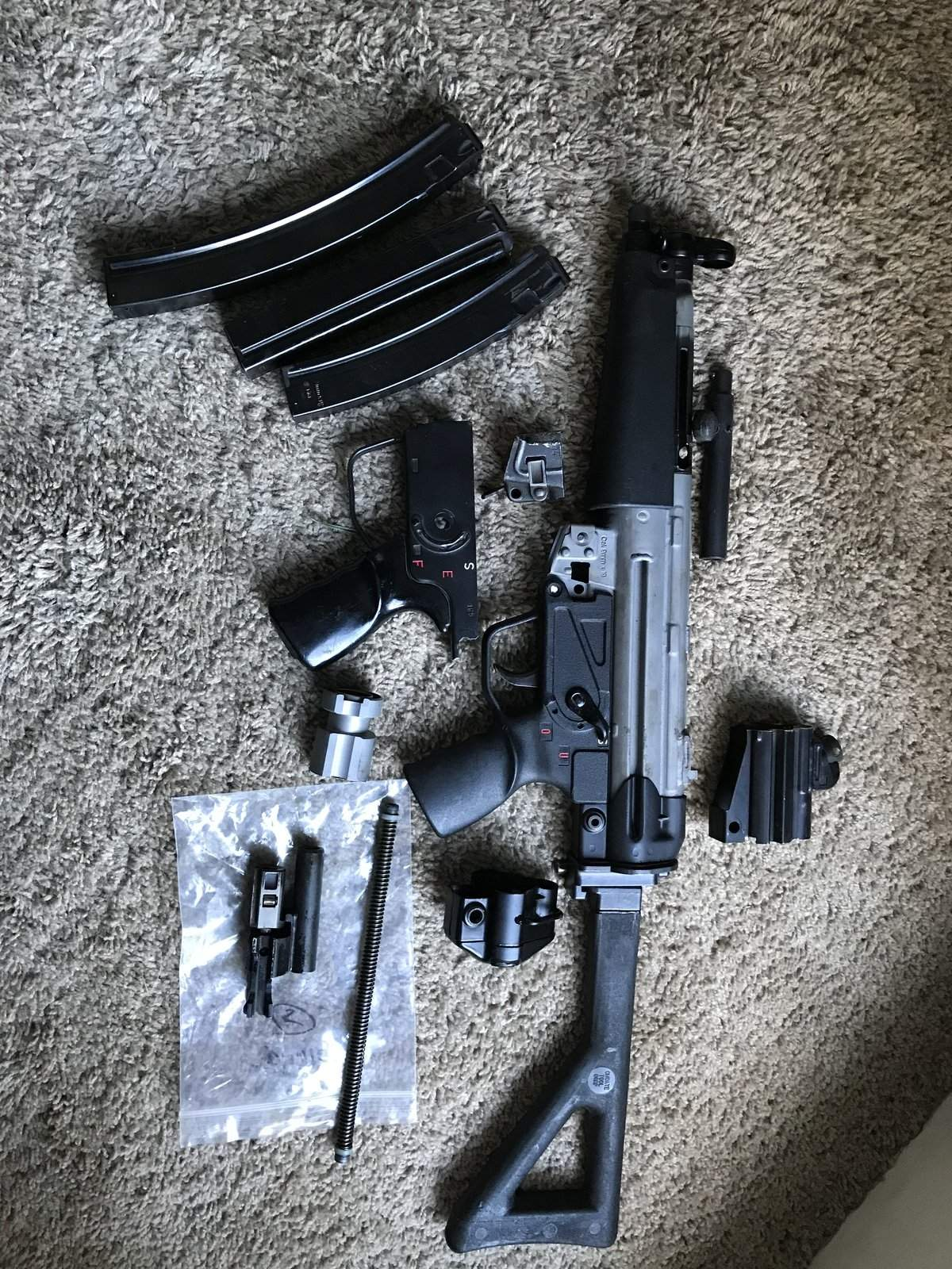 WTS OR - Mp5 parts kit plus receiver | Northwest Firearms