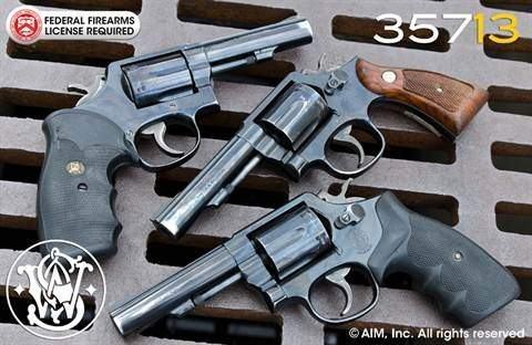 Used Smith & Wesson  38 Special and  357 Magnum revolvers from $269