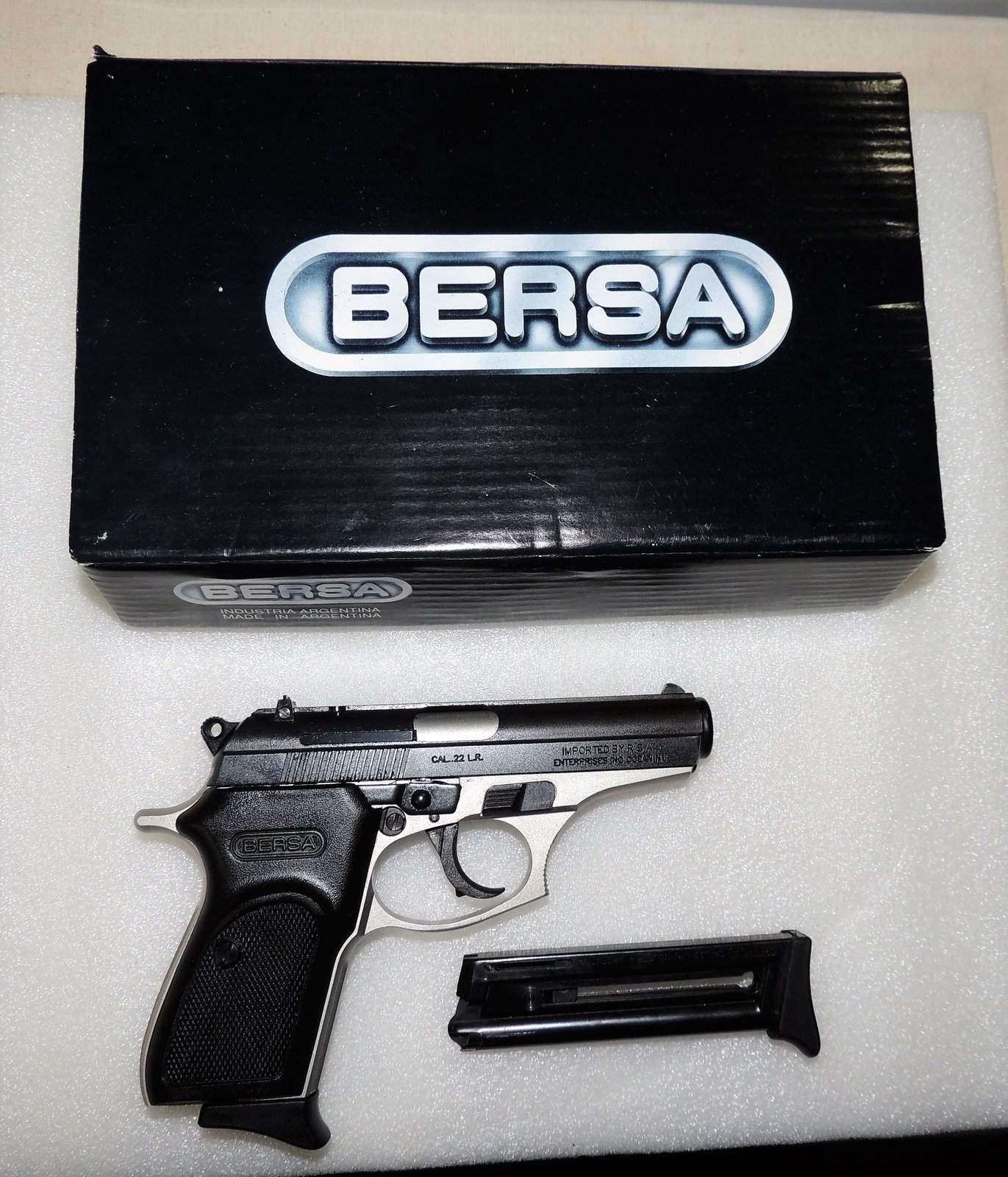 WTS WA - Bersa Thunder 22, with 2 mags and original box $200