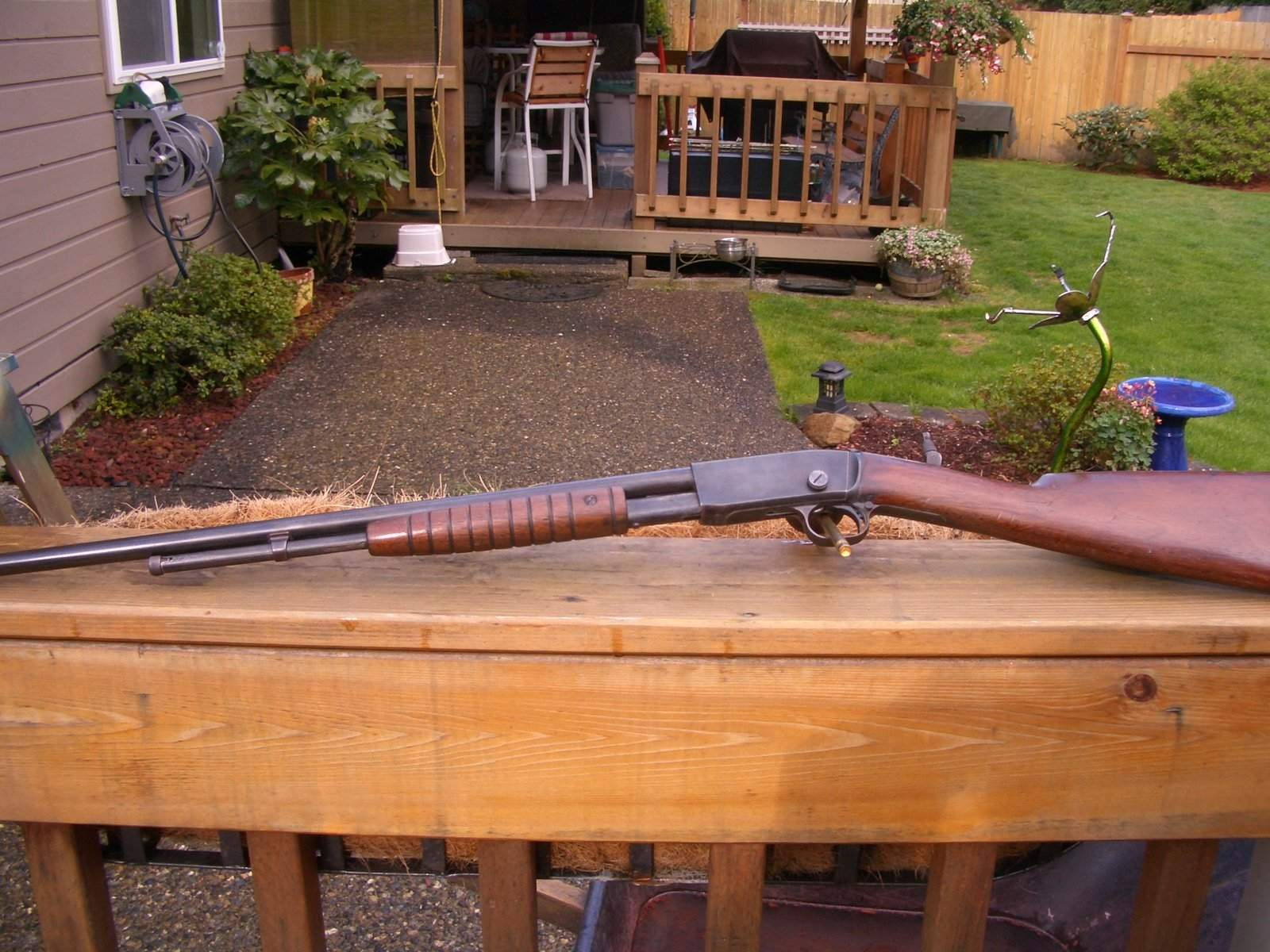 WTS WA - early 1910, Remington model 12a pump 22   Northwest