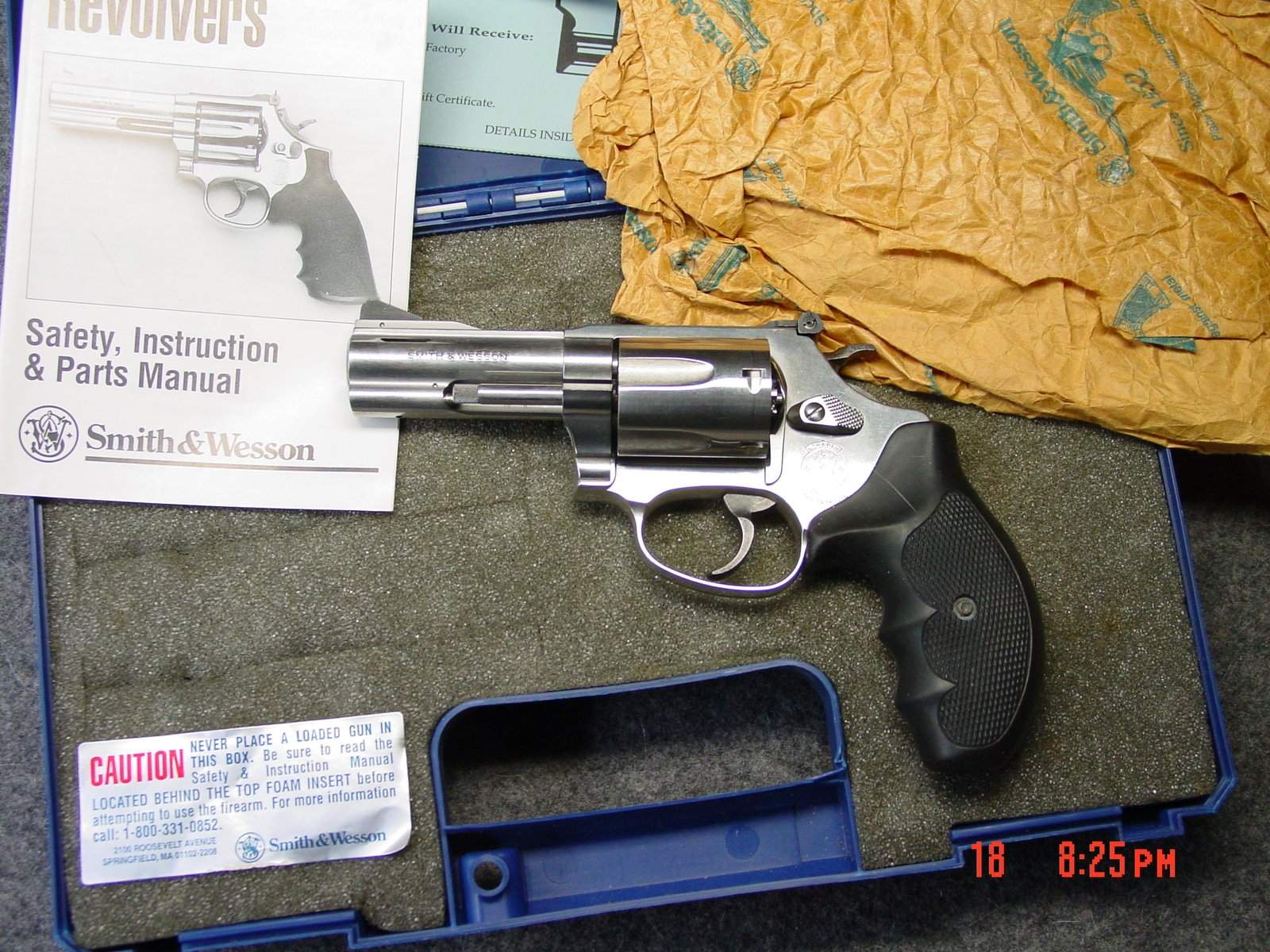 WTS OR - S&W Model 60-10 Stainless .357 J Frame 3\