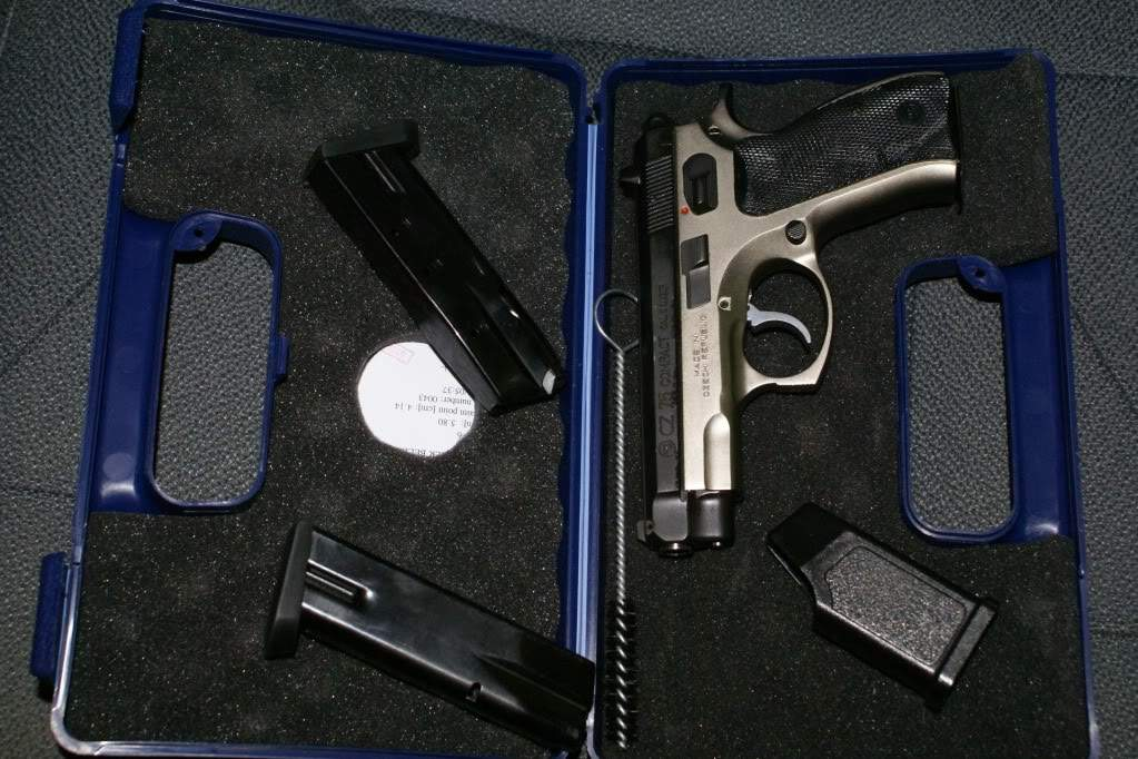 steyr M9, CZ 40P and CZ 75 compact 9mm Pics add | Northwest