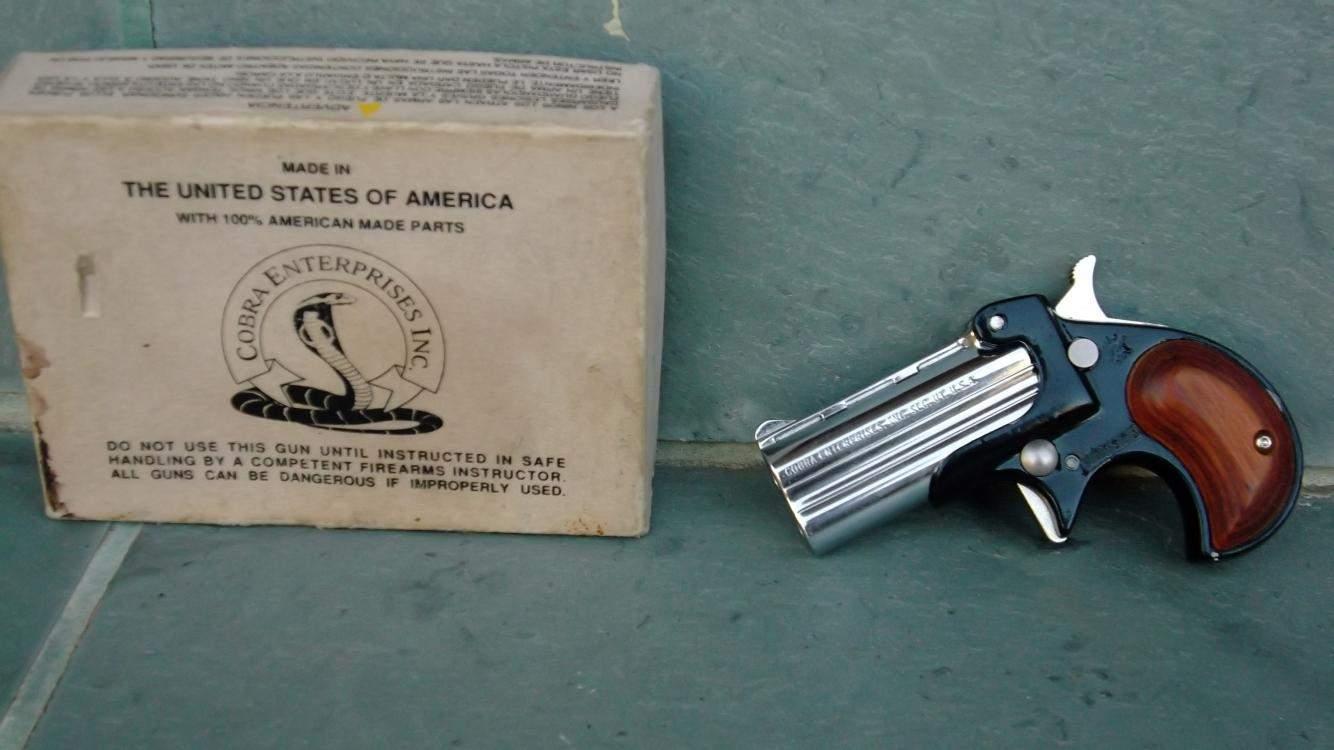 SPF Cobra 22lr and Cobray 45/410 Derringers SPF | Northwest Firearms