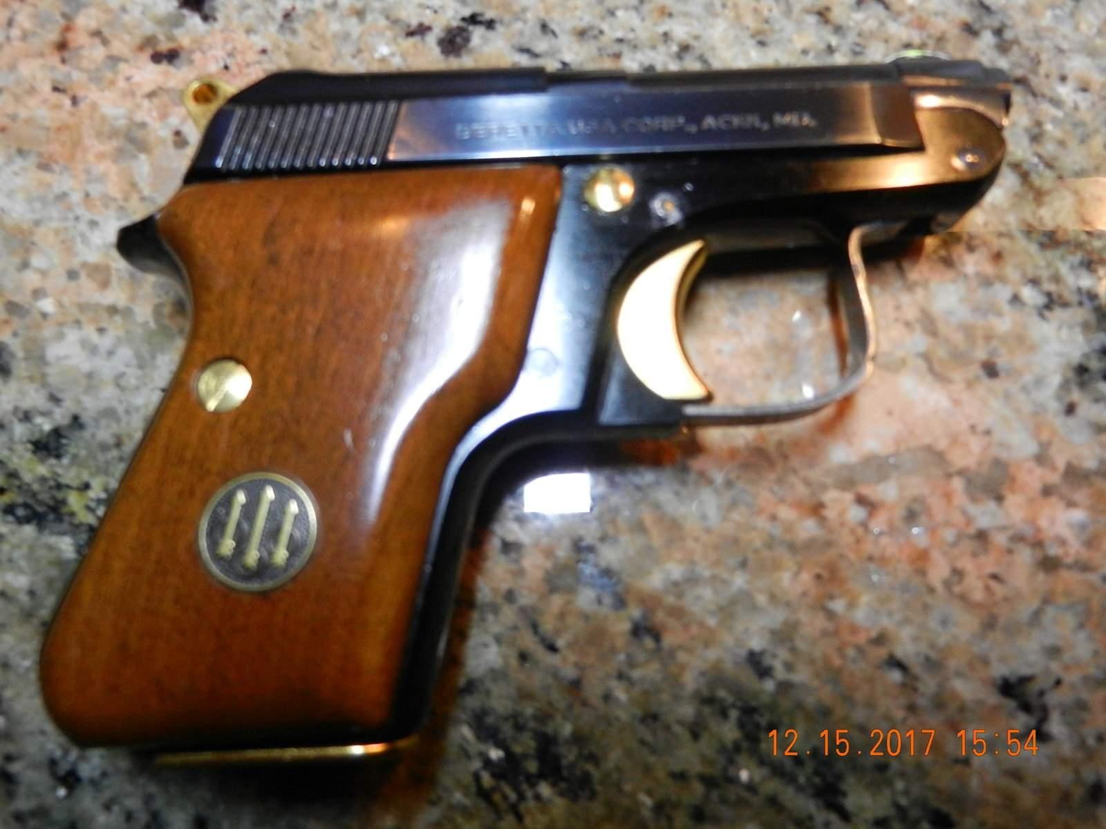 WTS WA - Beretta 950 BS  25 ACP with Gold Kit | Northwest