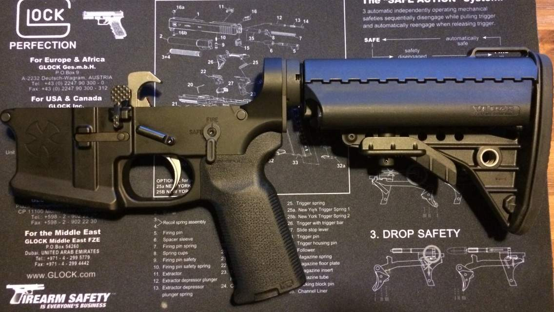 Seekins precision bolt release and mag release | Northwest