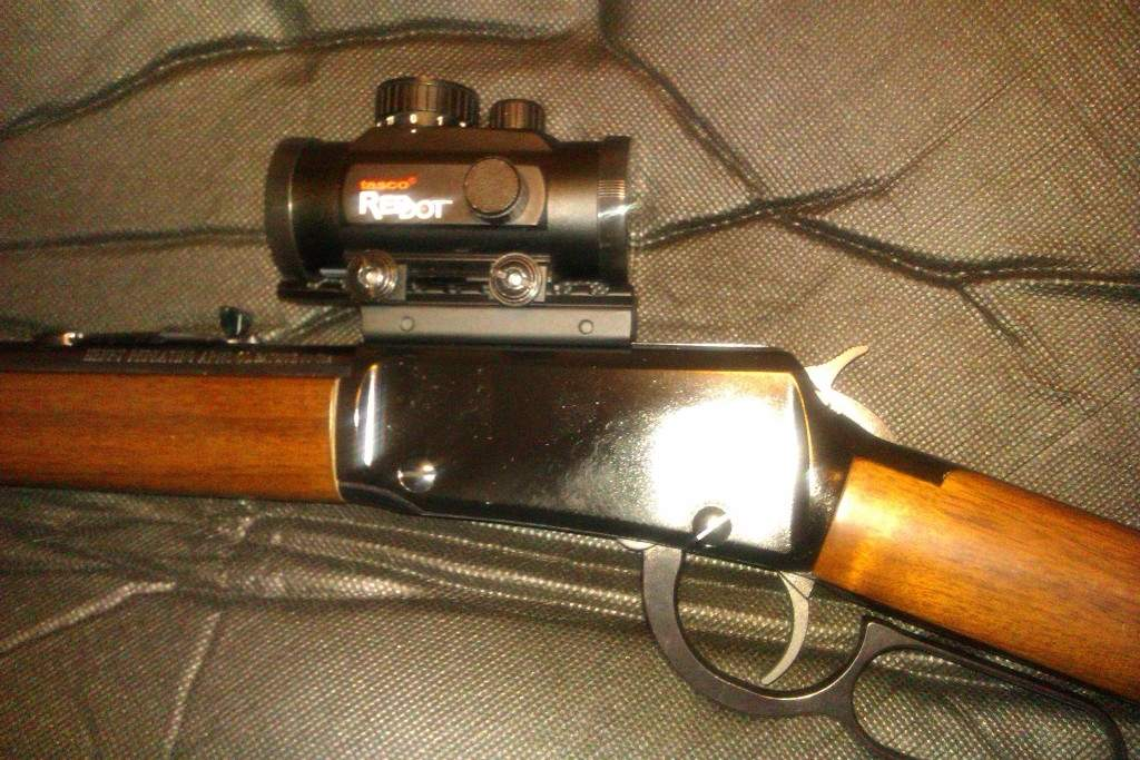 Decent Scope for my Henry  22 Lever Action Rifle