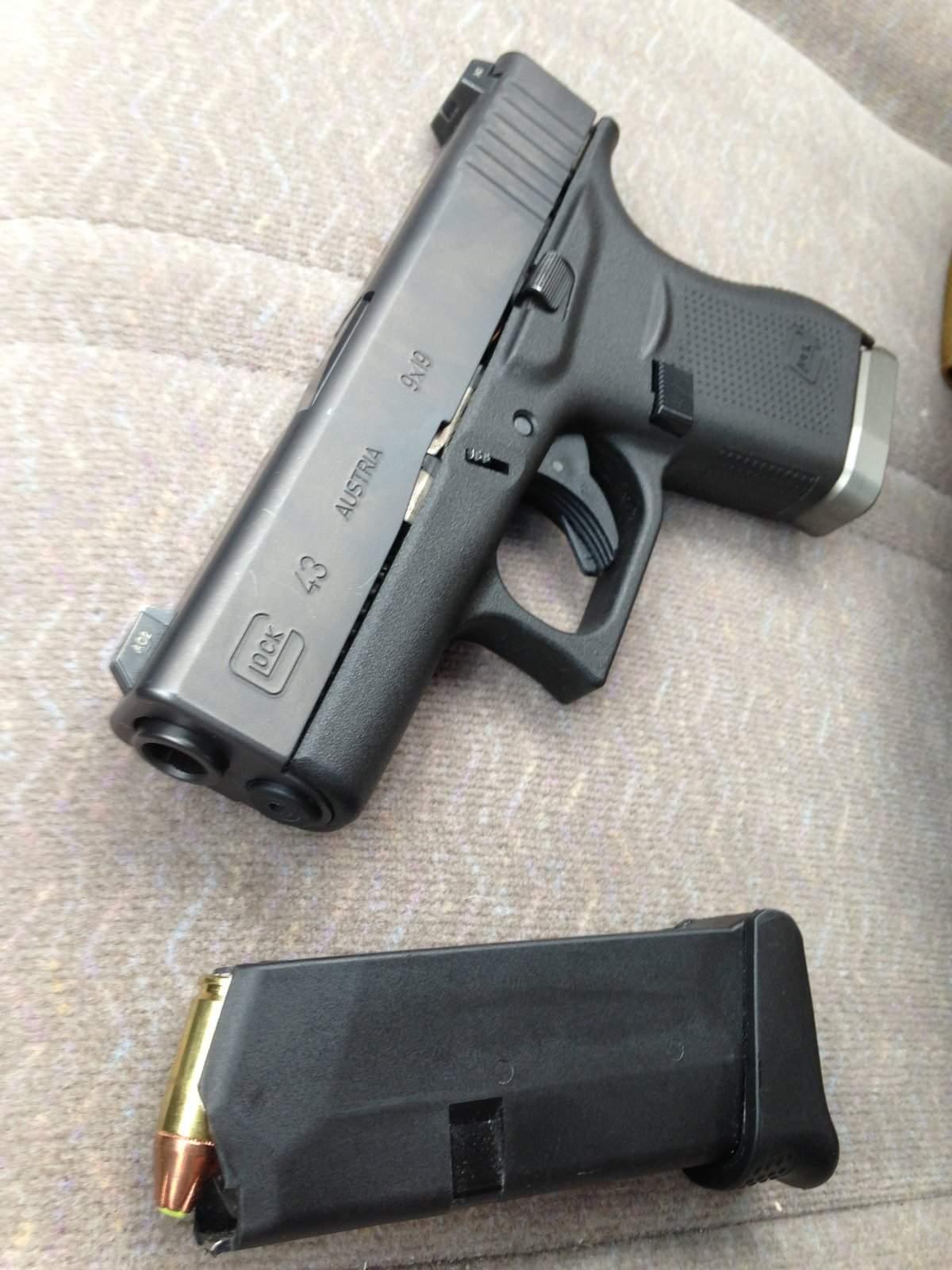 New Handguns 2017 >> WTT OR - Glock 43 (w Taran Mag) 4 mags trade for G19 | Northwest Firearms - Oregon, Washington ...