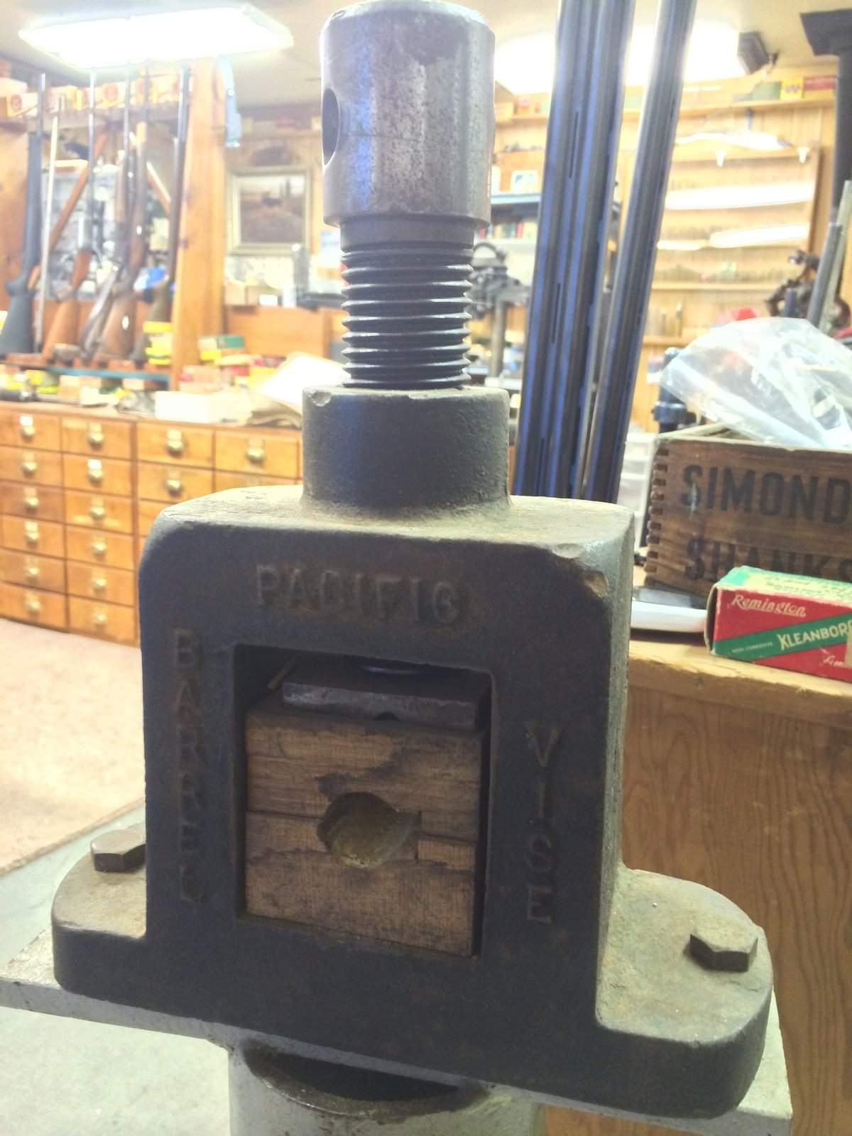 recommending barrel vise if you don t have one northwest