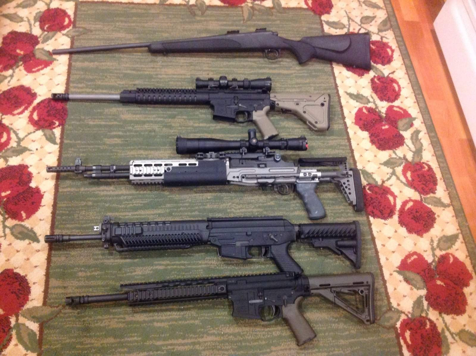 WTS/WTT WA - Mega arms monolithic ar15, sage ebr m1a, sig