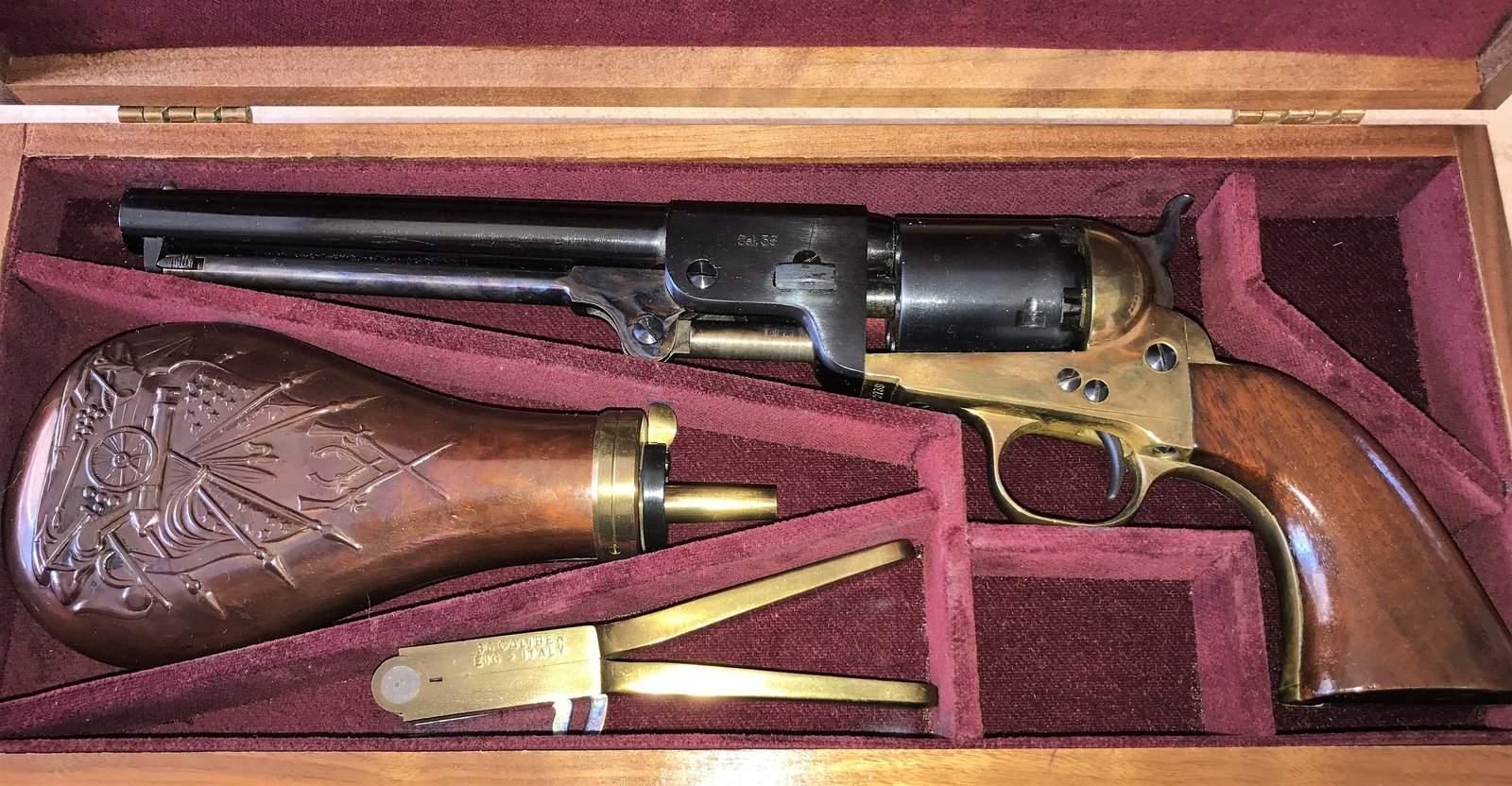 WTS WA - Navy Arms  36 caliber Black Powder Pistol in