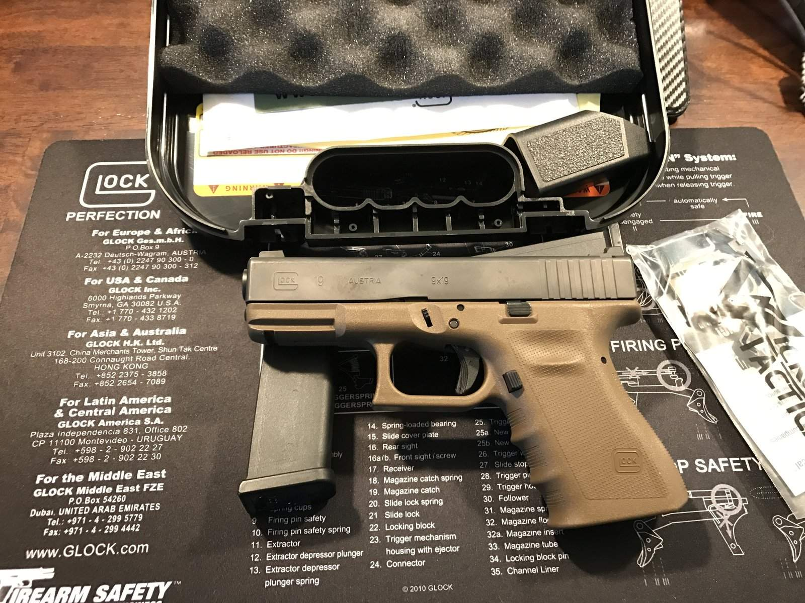 WTS OR - Glock 19 Vickers $550 | Northwest Firearms - Oregon