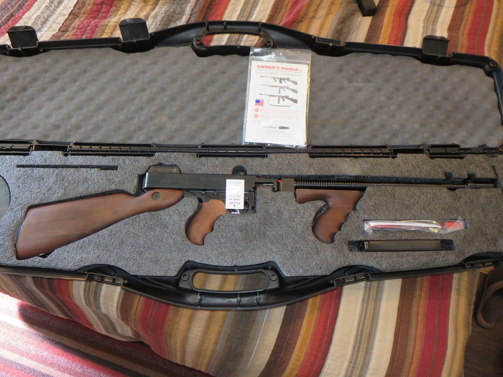 WTS WA - Auto Ordnance Thompson 1927a1 w/Violin Case, 50rd