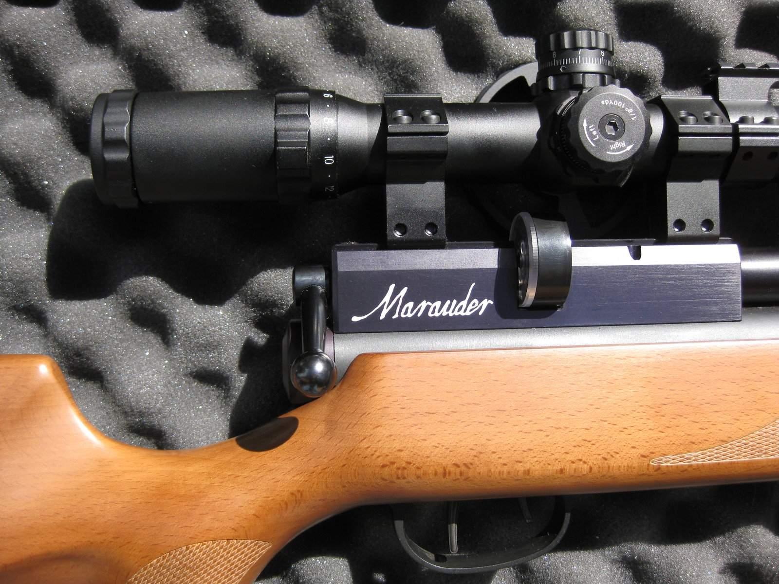WTS OR - Benjamin Marauder  22 w/ tank and extras