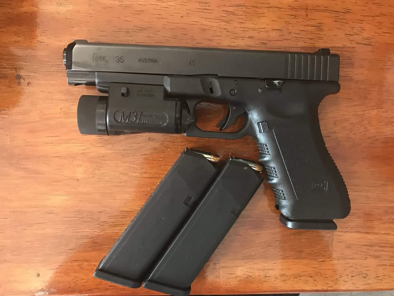 WTS WA - GLOCK 35 w/LIGHT & HOLSTER | Northwest Firearms - Oregon