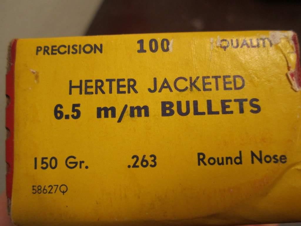Herter's 6 5 mm Bullets (7 boxes) obo   Northwest Firearms