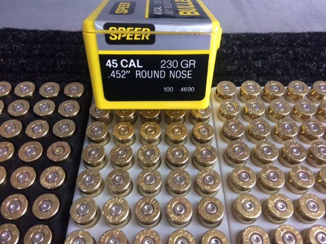 45 ACP BRASS & BULLETS | Northwest Firearms - Oregon