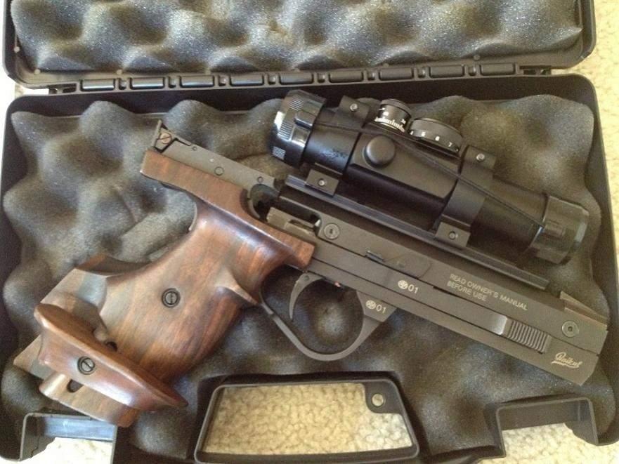 SOLD EAA Baikal IZH-35M  22LR Target Pistol w/Ultradot