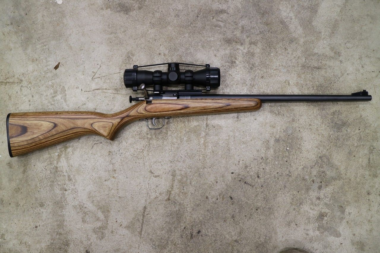 WTS OR - Crickett  22lr Youth Rifle w/Brown Laminated Stock