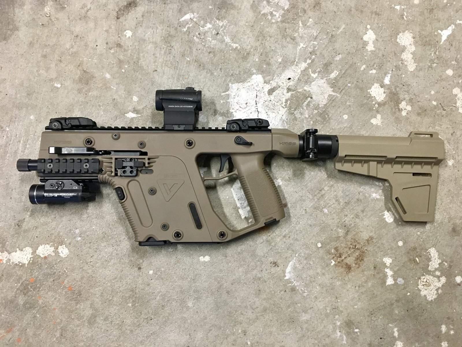WTS/WTT WA - FDE Kriss Vector in 9mm | Northwest Firearms - Oregon