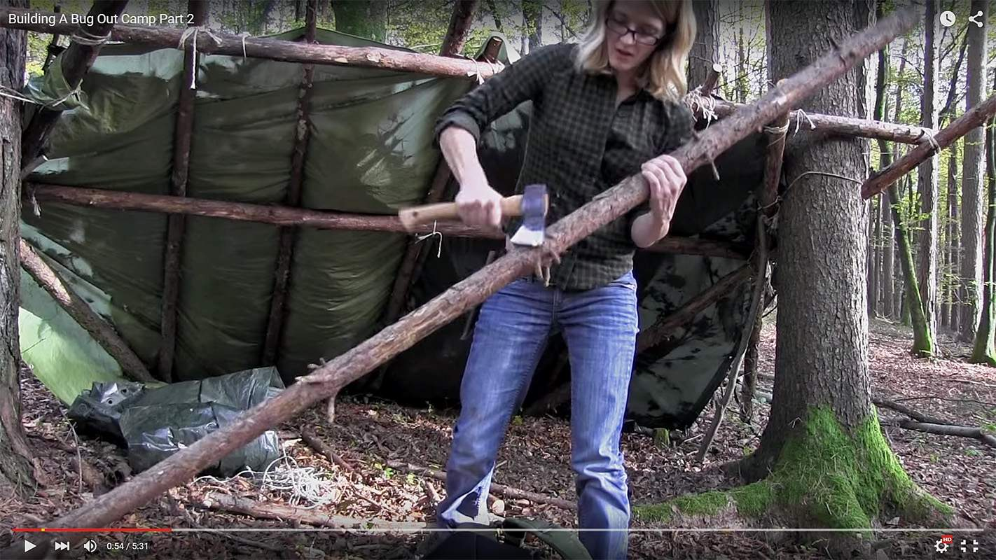 is anyone else a fan of the survival lilly show on youtube