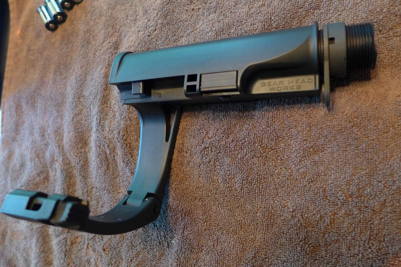 WTS OR - Tailhook Mod2 Pistol Brace, Black  New  $175