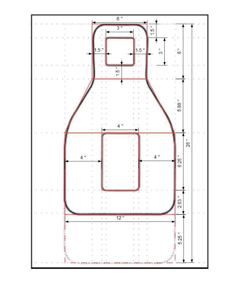 FBI QIT-99 target measurements/dimensions   Northwest
