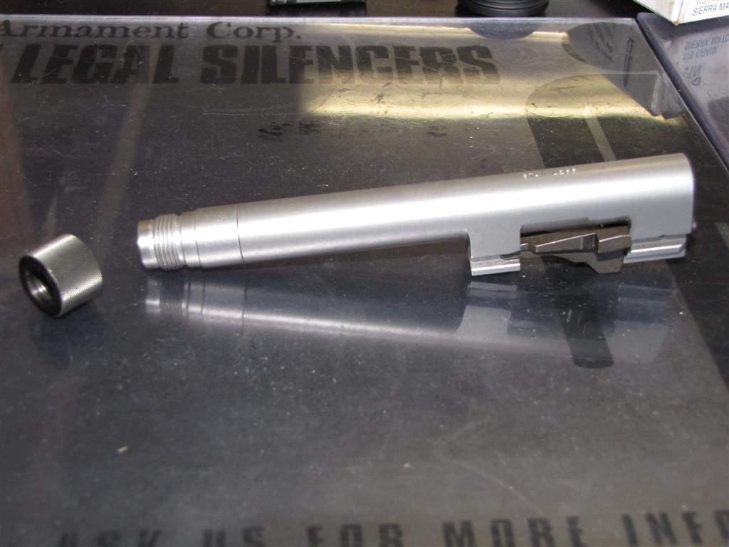 Gun T Shirts >> Threaded Beretta 92 stainless barrel. 13.5mmx1LH $200 ...