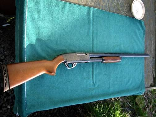 Shotguns with barrels shortened to 18 or 20 inches