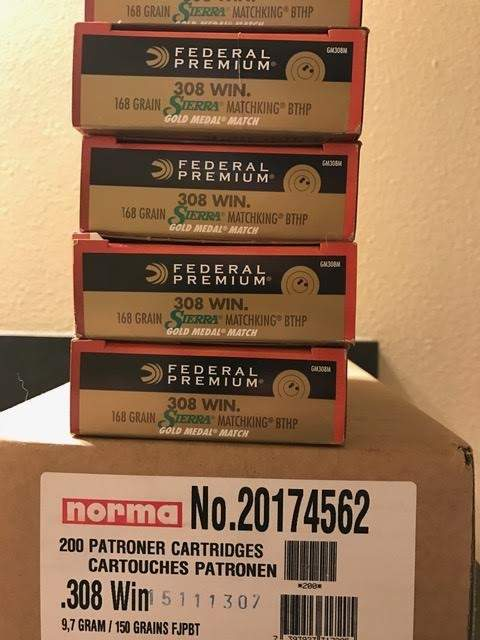 WTS OR - 308 ammo | Northwest Firearms - Oregon, Washington, and