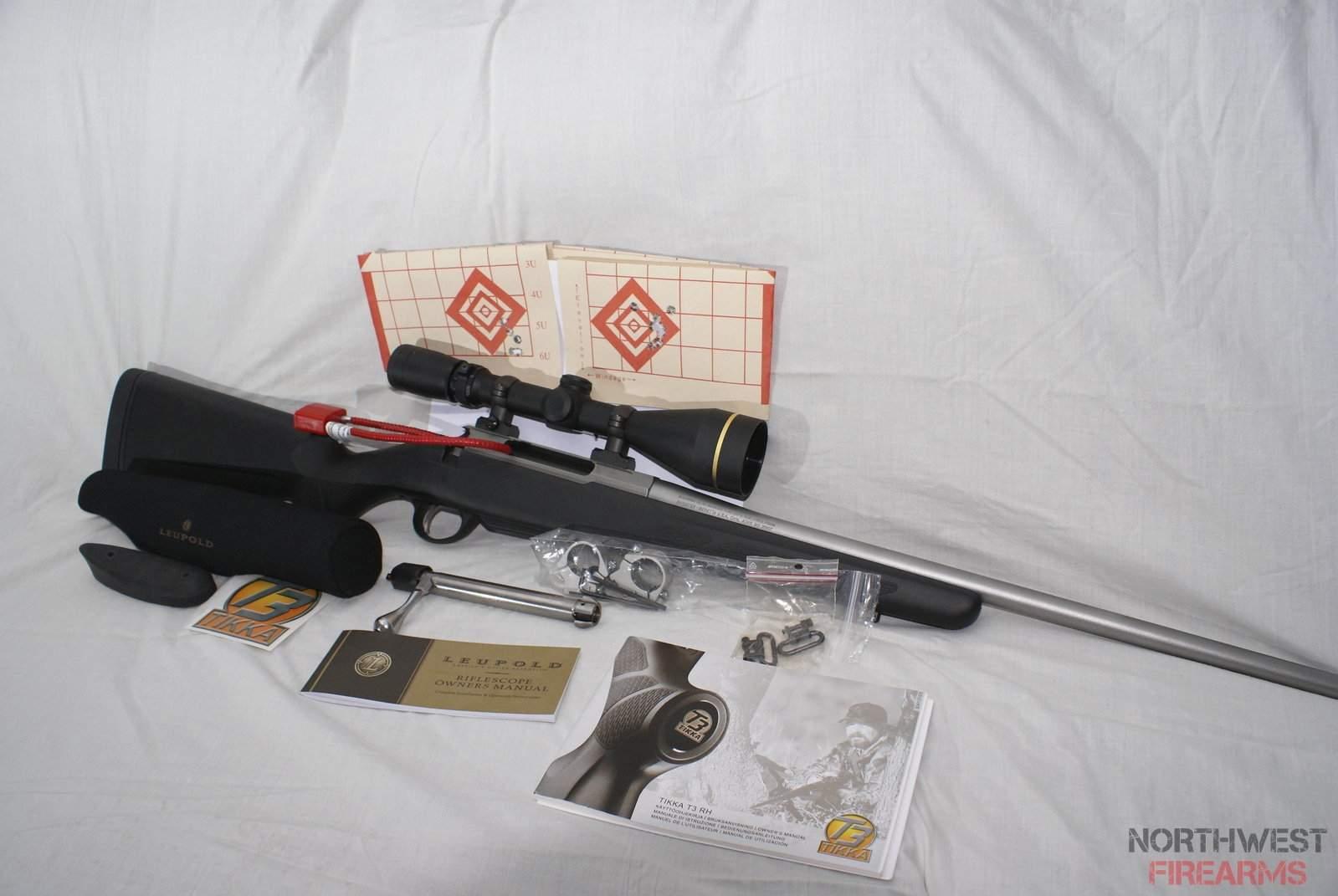 Tikka T3 Lite Stainless | Northwest Firearms - Oregon